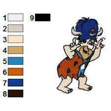 Flintstones Embroidery Designs The Flintstones 04 Embroidery Design