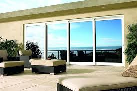 8 ft sliding glass doors within door 10 foot high