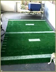 unique kids carpet rug cartoon football field