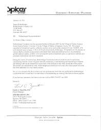 Recommendation Letter Construction Project Manager