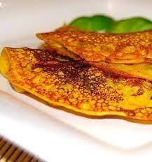eggless vegetable omelet besan chilla