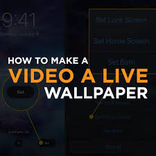 How to Make a Live Wallpaper on Any Device?