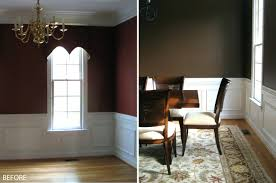 Decor Decorative Wall Trim Ideas Shocking Dining Room Wall Trim White Wood  Transitional Pict For Decorative