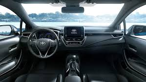 toyota corolla 2019 interior revealed