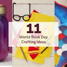 Ideas 11 World Book Day Crafting Ideas