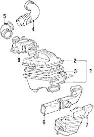 parts com® toyota camry engine mounting oem parts diagrams 1989 toyota camry le v6 2 5 liter gas engine mounting