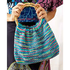 Sugar And Cream Yarn Patterns Fascinating Ravelry Psychadelic Hobo Bag Pattern By Lily Sugar'n Cream