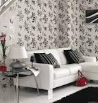 Дизайн стен обоями и краской