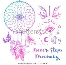 What Native American Tribes Use Dream Catchers Hand Drawn Clip Art Native American Stock Vector 100 17