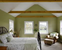traditional bedroom ideas green.  Green Farmhouse Style Bedroom In White And Green With Wooden Beams Design  Connor Homes For Traditional Bedroom Ideas Green R