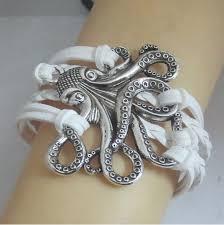 Infinity <b>octopus</b> charm bracelet <b>trendy octopus</b> woman and man gift ...