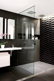 10 black and white bathrooms. Styling by Vanessa Colyer Tay. Photography by  Sam McAdam