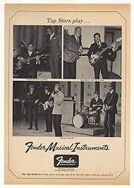 1968 Francois Vaz Don Baldwin Herman's Hermits Fender Original Print Ad  (Music Memorabilia): Amazon.ca: Home & Kitchen
