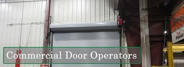 steel garage door operators