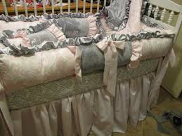 designer crib bedding for girls