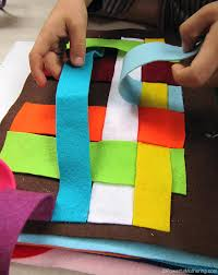 quiet book pages ideas weaving felt page of quiet book pages ideas the 3 day no