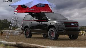 Ford Escape Light Bar Ford Will Have More Than 50 Customized Vehicles At Sema