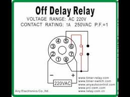 off delay relay youtube Solid State Time Delay Relay Wiring Diagram Relay Switch Wiring Diagram