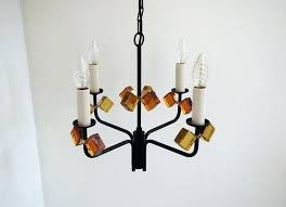 colored glass chandelier mid century danish black iron colored glass chandelier from 1 murano colored glass