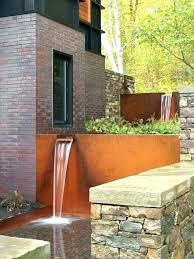 outdoor wall waterfall outdoor wall waterfall lighted water fountains outdoor outdoor wall water fountains lighted outdoor