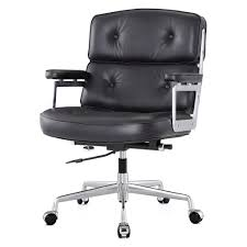 Office Chair Leather Office Chair In Aniline Leather Color Options