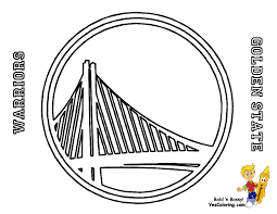 Small Picture Golden State Warriors Logo Coloring Page Coloring Home