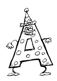 Alfabet Poppetjes Kleurplaten Animaatjesnl