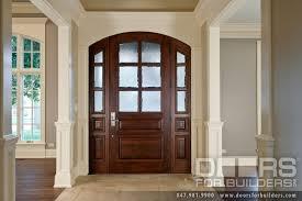 Decorative Door Designs Exterior Front Entry Wood Doors With Glass Door Designs Photos 39