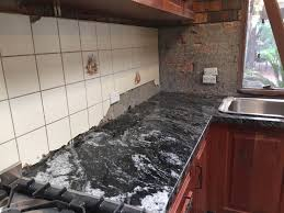 Granite Kitchen Benchtops Jet Mist Granite Kitchen Benchtop Installation Granite Marella