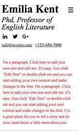 Resumes With Picture Resumes Cvs Website Templates Portfolio Cv Wix Com