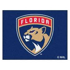 nhl florida panthers blue 3 ft x 4 ft indoor all star area rug