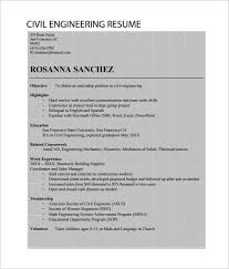 Awesome Collection Of Outstanding Civil Engineer Resumes Awesome 10
