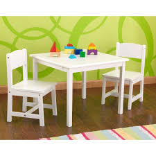 image of kids aspen table and chair set in white s bedroom furniture cu throughout