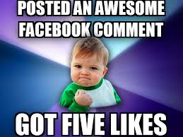 Best Meme Facebook Comments - livememe success kid – 10 best ... via Relatably.com