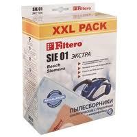 670 ₽ Filtero <b>Мешки</b>-<b>пылесборники</b> SIE 01 <b>XXL</b> Pack Экстра
