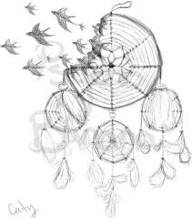 Dream Catcher Tattoo Stencils DreamCatcher tattoo design by APsychoBanana on DeviantArt 40