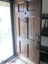 Front Doors : Wooden Exterior Doors With Glass Hardwood Exterior ...