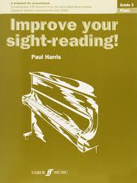 piano grade improve your sight reading paul harris piano grade 3 improve your sight reading paul harris 9780571533039 com books