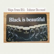 guinness sign black is beautiful guinness sign guinness beer sign guinness gifts ebay