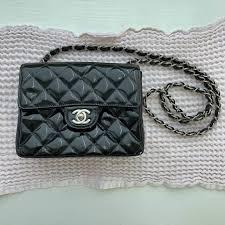 lazarus1 last month san go united states vintage chanel patent leather bag