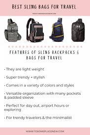 10 Best Sling Bags For Travel Best Sling Backpack Reviews