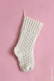 Crochet Stocking Pattern Gorgeous Crochet Stocking Pattern Free Tutorial Consumer Crafts