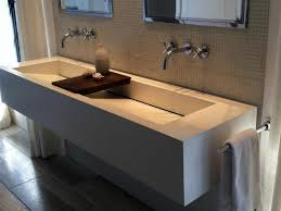gorgeous large bathroom sinks with two faucets faucets undermount trough bathroom sink with two faucets