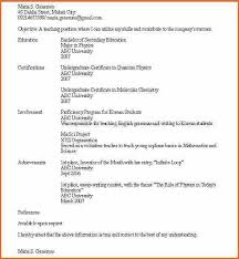Ideas Collection Sample Resume No Job Experience Resume No Work