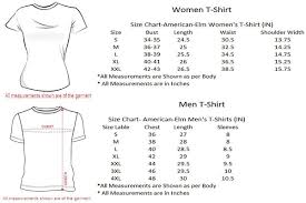 American Princess Size Chart Her Prince His Princess Tshirts