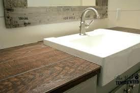 faux wood countertops wood tile rustic bathroom ceramic wood tile s wood tile contemporary
