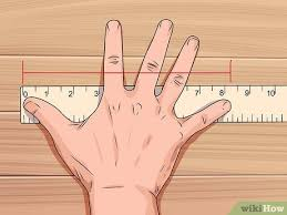 Average Hand Size Chart 3 Ways To Measure Hand Size Wikihow