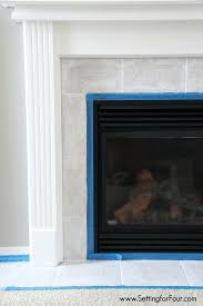 fireplace tile paint uk