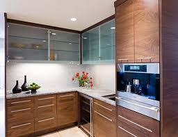Modern Glass Kitchen Cabinets Modern Furniture Kitchen U Shaped Orange Wooden Kitchen Cabinet