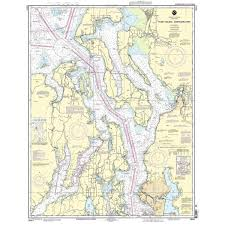 Noaa Chart Books Puget Sound Noaa Chart 18440